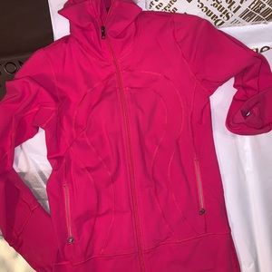 Lululemon pink Dance studio jacket. 6.